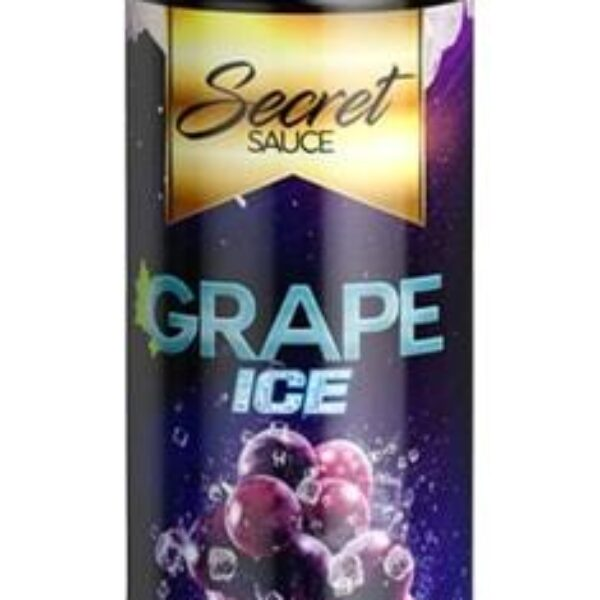 Secret Sauce E-Liquids – Grape Ice – 60ml