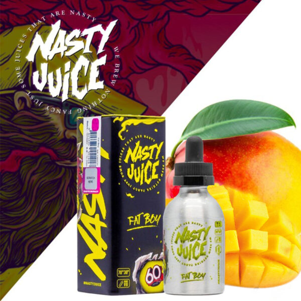 FAT BOY – NASTY JUICE E-LIQUID – 60ML