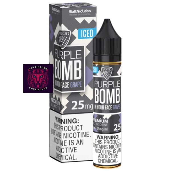 VGOD Iced Purple Bomb SaltNic - 30ml