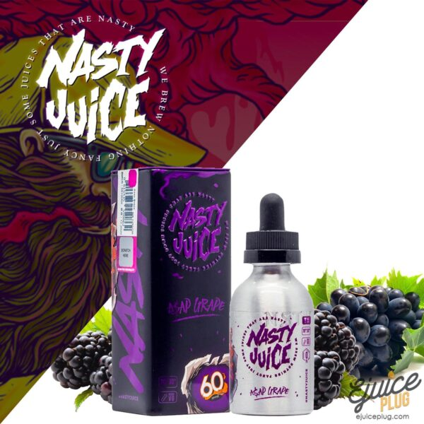 A$AP GRAPE – NASTY JUICE E-LIQUID – 60ML