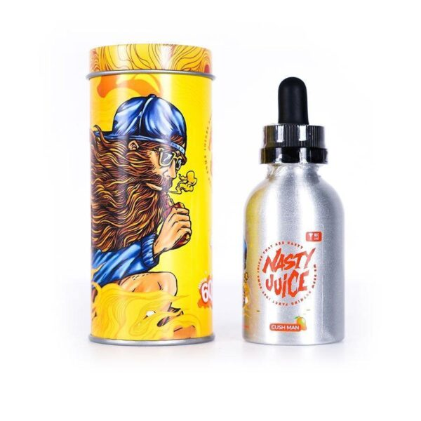 CUSH MAN – NASTY JUICE E-LIQUID – 60ML
