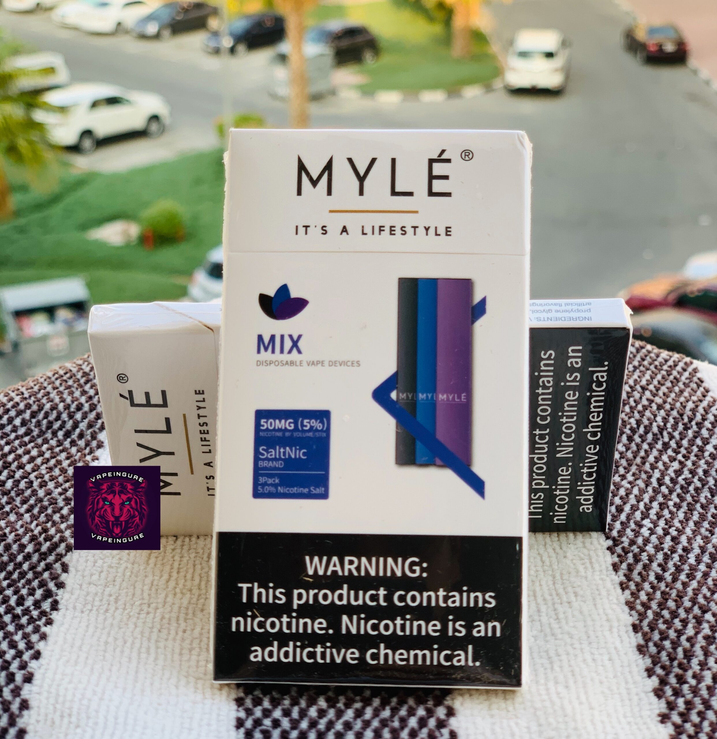 MYLE DISPOSABLE DEVICE MIX NEW
