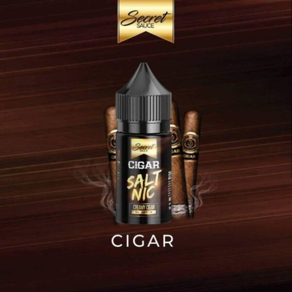 Secret Sauce Salt Nic – Cigar