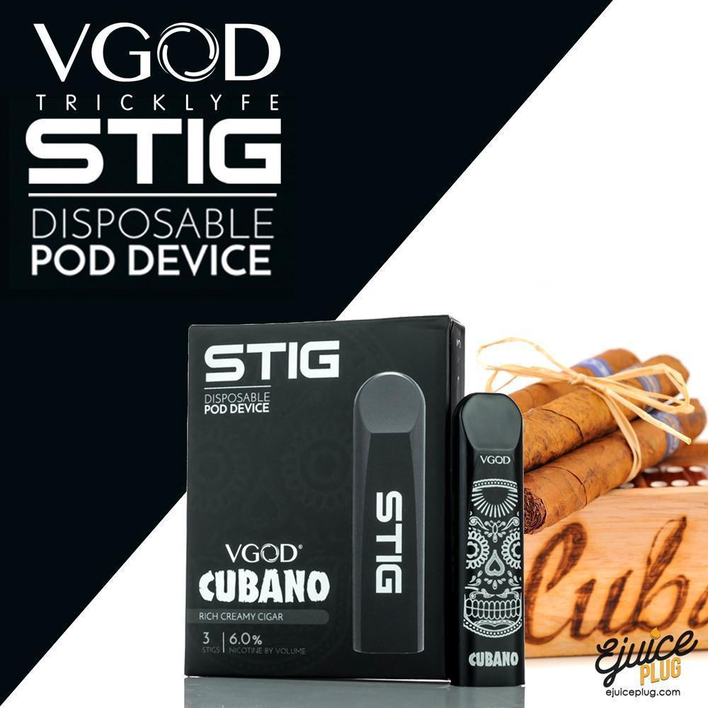 STIG Cubano: Best STIG Disposable Starter Kit by VGOD - Cubano