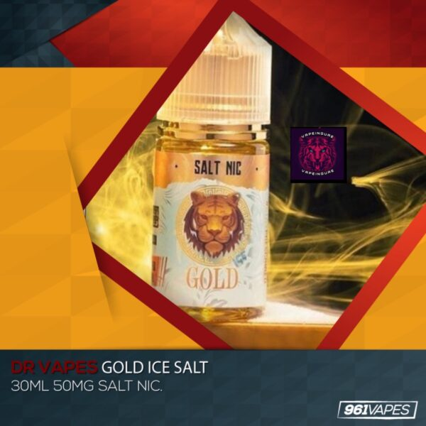 Gold ICE-Pink Panther Salt-30ml - Vapeinguae