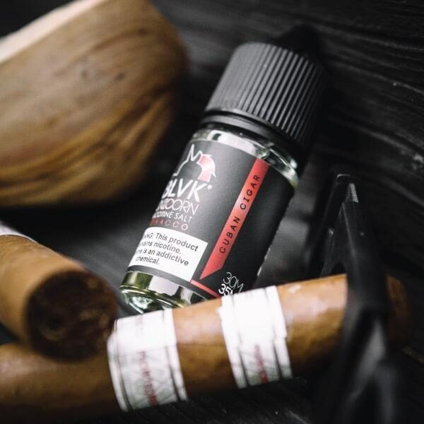 Cuban Cigar SALT - BLVK Unicorn - 30mL | Vape Juice