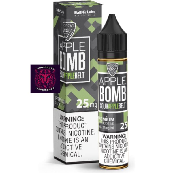 VGOD SaltNic Apple Bomb 30ml Nic Salt Vape Juice
