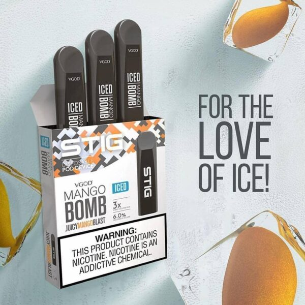 STIG: STIG Mango Bomb Disposable Pod by VGOD