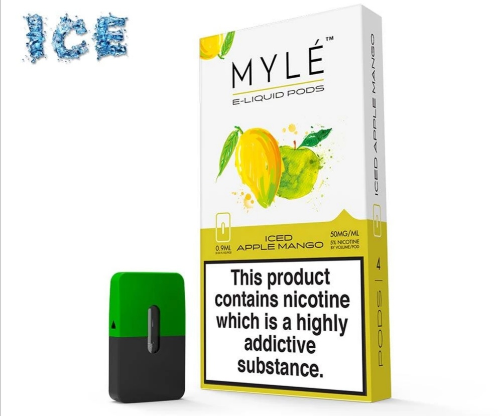MYLE Pods Iced Apple Mango - Vapeinguae