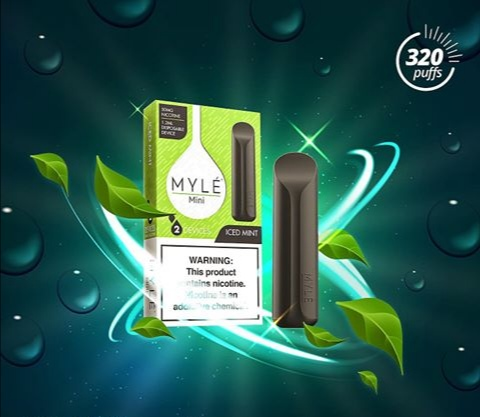 MYLÉ Mini – Best Iced Mint Disposable Device New