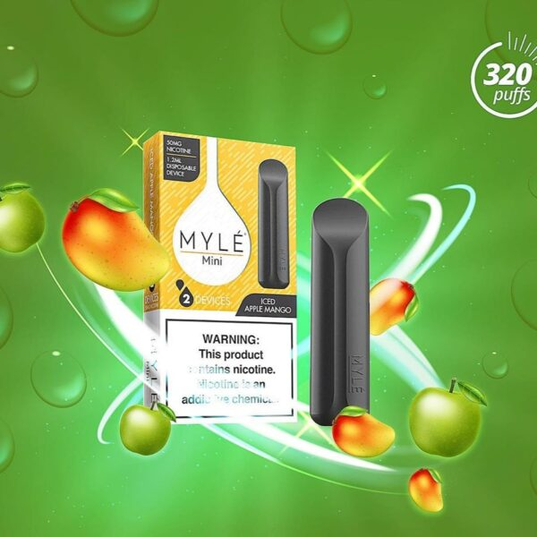 MYLÉ Mini – Iced Apple Mango Disposable Device
