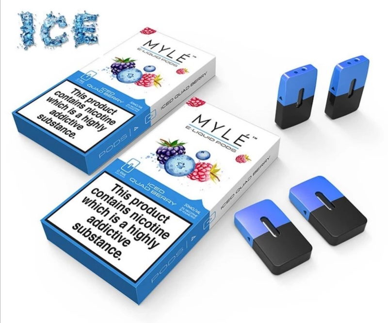 Best Myle Iced Quad Berry New Pod Device in UAE