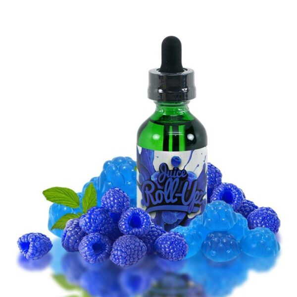 BLUE RASPBERRY E JUICE BY JUICE ROLL UPZ 60ML