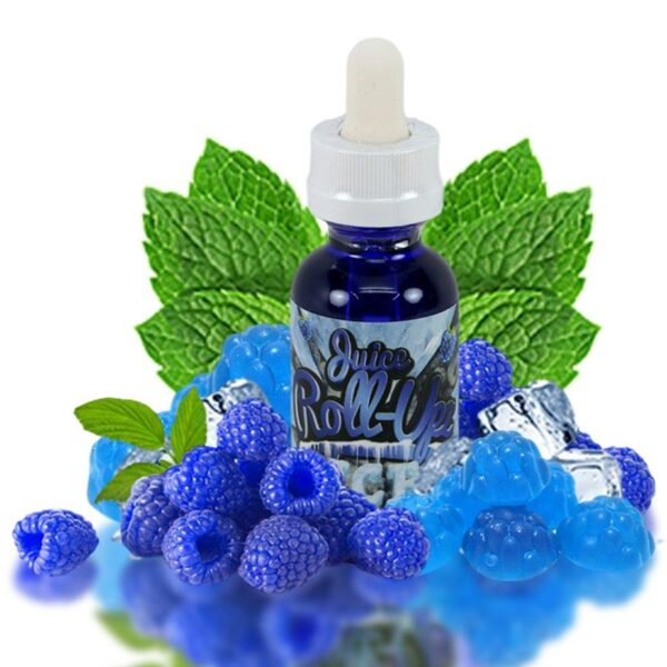 BLUE RASPBERRY ICE BY JUICE ROLL UPZ 60ML