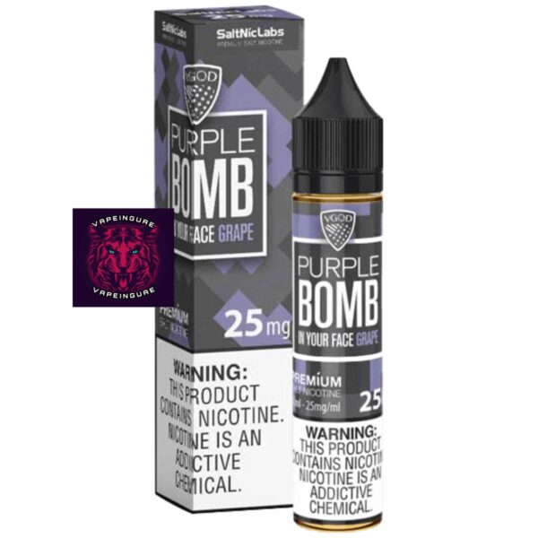 VGOD SaltNic Purple Bomb eLiquid 30ml