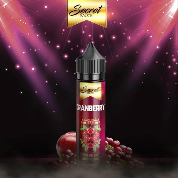 Secret Sauce E-Liquids – CranBerry – 60ml