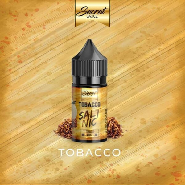 Secret Sauce Salt nic - Tobacco