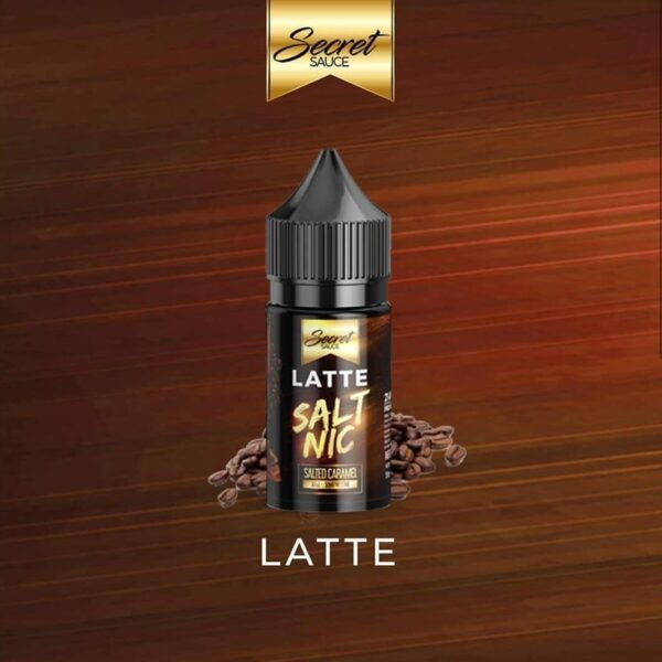 Secret Sauce Salt nic - Latte