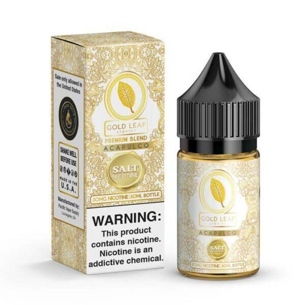 Acapulco by Gold Leaf Nicotine Salt Liquids | Vapeinguae