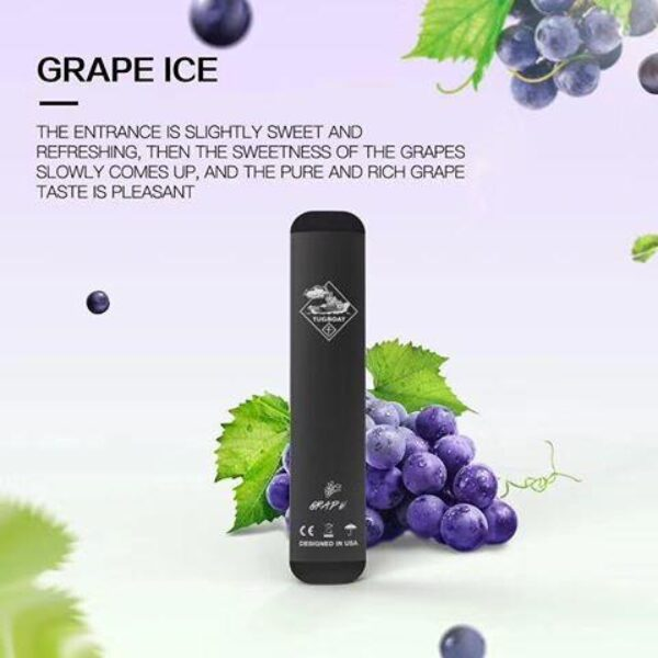 TUGBOAT 2 GRAPE ICE NEW