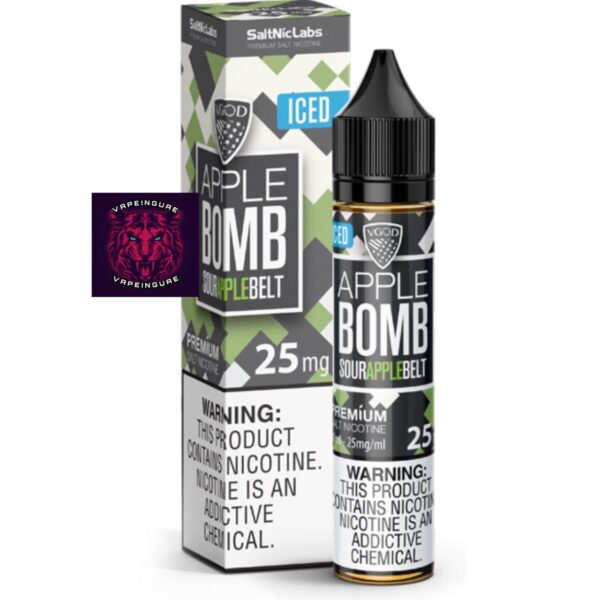 Apple Bomb ICED VGOD SaltNic eLiquid - 30ml