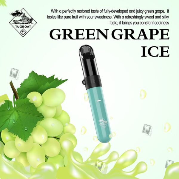 Green Grape Ice - Tugboat v4(CASL) 3pcs/pack