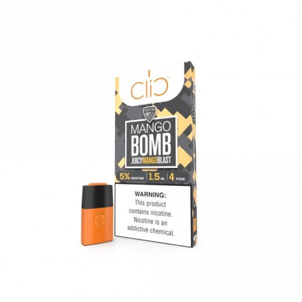 Best Vgod Mango Bomb Pod by Clic in Dubai