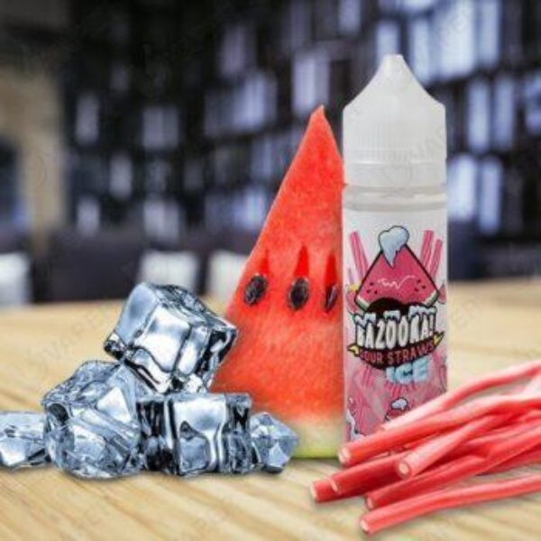 BAZOOKA ICE WATERMELON SOUR STRAW 60ML