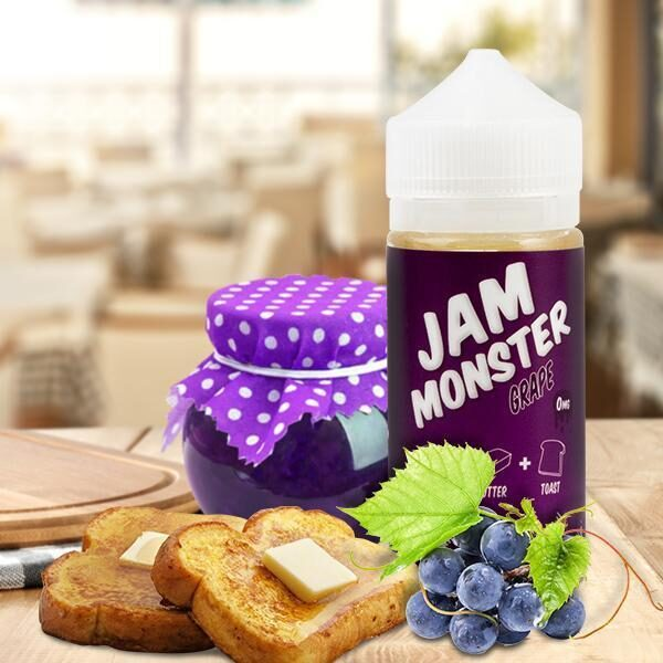 Jam Monster Grape – 100ml