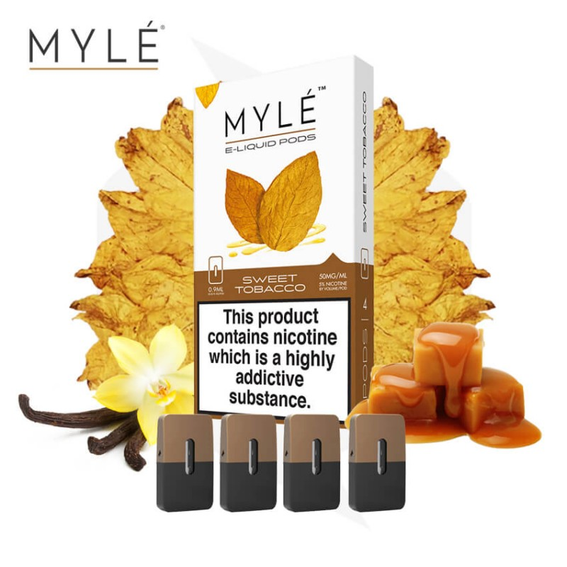 MYLE Pods Sweet Tobacco - Vapeinguae