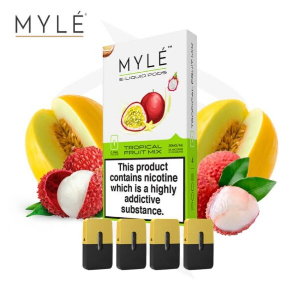 MYLE Pods Tropical Fruit Mix - Vapeinguae