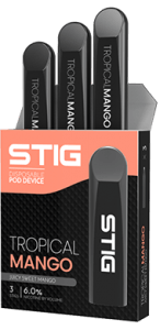STIG: Best STIG Tropical Mango Disposable Pod by VGOD