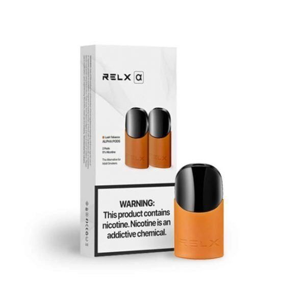 Top Alpha Lush Tobacco by Relx - vapeuae.org