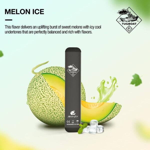 Buy Authentic Melon Ice by Tugboat Disposable Pods – V2 (Pack of 3!)