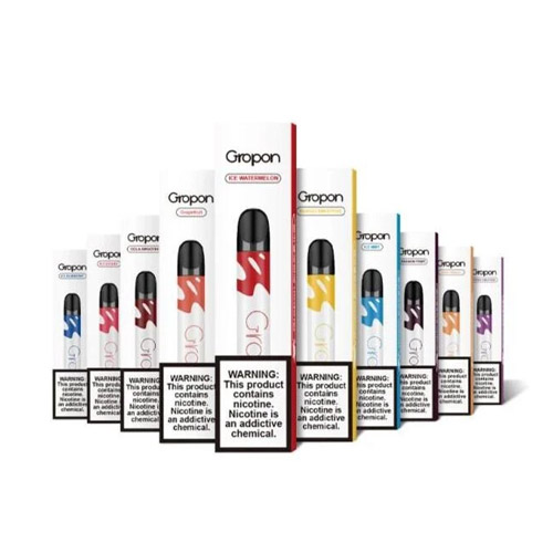 TOP GROPON DISPOSABLE VAPORIZER VapeUae.org