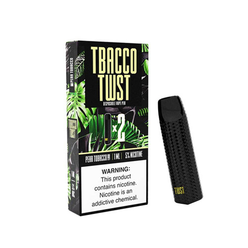 BUY PEAR TOBACCO Vape Pen BY TBACCO TWST DISPOSABLE DEVICE