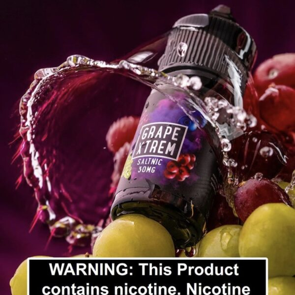 Grape xtrem Ice salt nic by Sam vapes