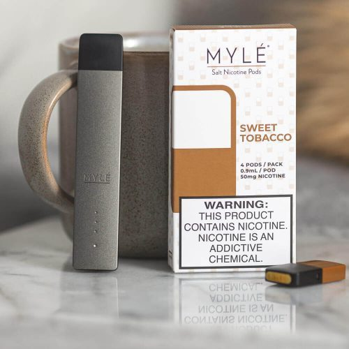 BUY 10 MYLE POD PACKS GET ONE MYLE DEVICE FREE UAE