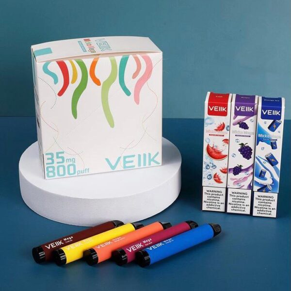 VEIIK MICKO MEGA DISPOSABLE KIT 800PUFF(BOX)